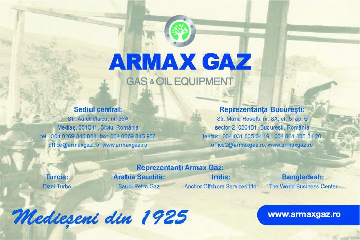 armax gaz www_armaxgaz_ro 2015